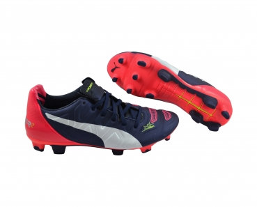 Puma evoPOWER 2.2 FG peacoat/white/bright plasma