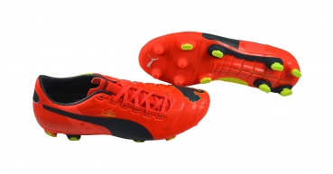 Puma evoPOWER 2 FG peach-ombre blue-yellow