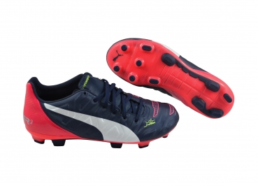 Puma evoPOWER 3.2 FG Jr peacoat/white/bright plasma