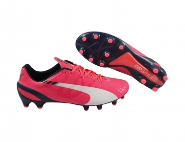 Puma evoSPEED 1.3 FG bright plasma/white/peacoat