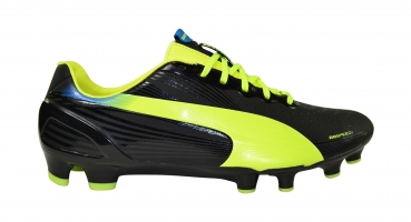 Puma evoSpeed 2.2 FG black/fluo yellow