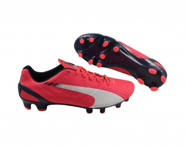Puma evoSPEED 2.3 FG bright plasma/white/peacoat