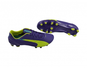 Puma evoSPEED 2.3 FG prism violet-yellow-blue