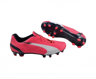 Puma evoSPEED 4.3 FG bright plasma/white/peacoat