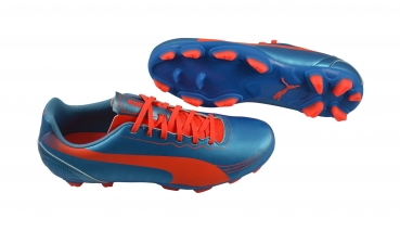 Puma evoSPEED 5.2 FG blue-fl peach-fl yellow