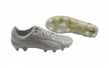 Puma King FG met white