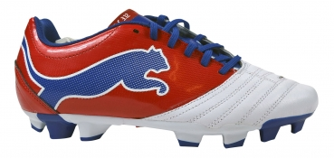 Puma PowerCat 3.12 FG white/ribbon red