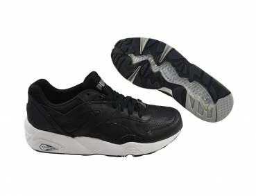 Puma R698 Core Leather black/black/drizzle