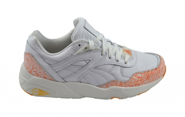 Puma R698 Snow Splatter Pack white/fluo orange