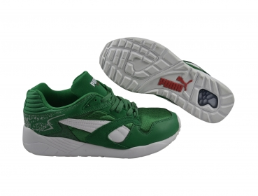 Puma Trinomic XS 850 x Green amazon/white